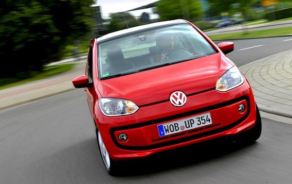 VW Up Croatia July 2013