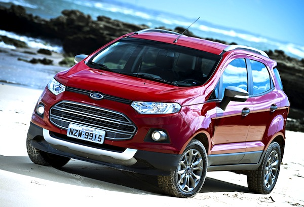 Ford Ecosport Argentina January 2014