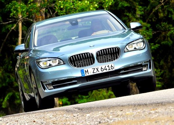 BMW 7 Series Singapore June 2013