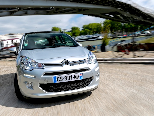 Citroen C3 France October 2014. Picture courtesy of L'Argus
