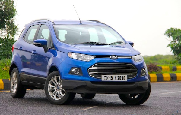 Ford Ecosport India June 2013. Picture courtesy of motorbeam.com