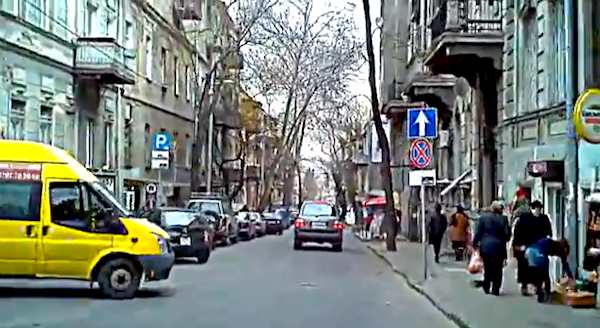 Ford Transit Tbilisi Georgia 2013. Picture courtesy of YouTube