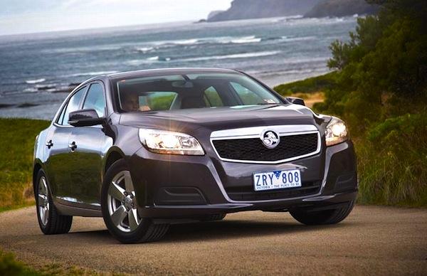 Holden Malibu New Zealand June 2013