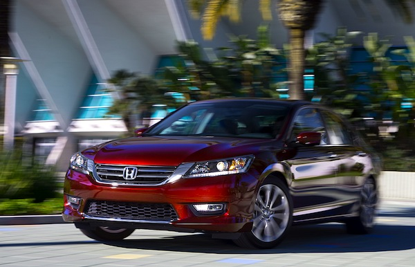 Honda Accord USA June 2013. Picture courtesy of Motor Trend