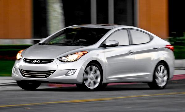 Hyundai Elantra. Picture courtesy of motortrend.com