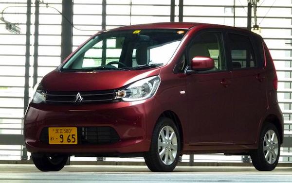 Mitsubishi eK Japan June 2013