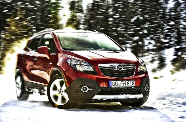 Opel Mokka Germany June 2013. Picture courtesy of Auto Bild