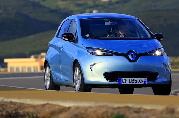 Renault Zoe Austria June 2013