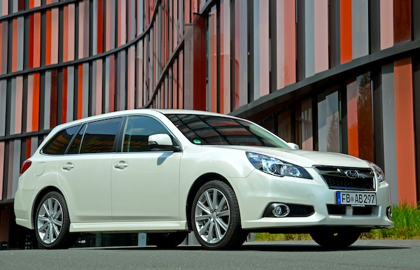 Subaru Legacy Estonia June 2013