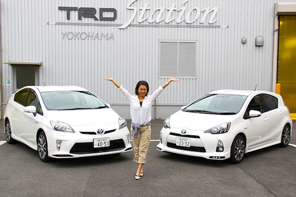 Toyota Prius Aqua Japan June 2013. Picture courtesy of autoc-one.jp