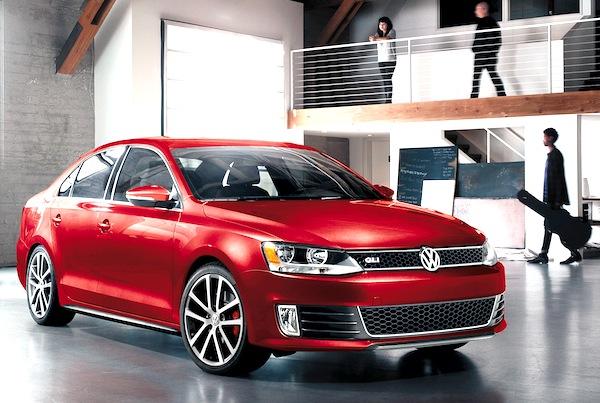 Volkswagen Jetta Canada June 2013