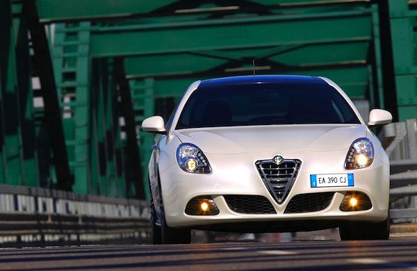 Alfa Romeo Giulietta Italy July 2013