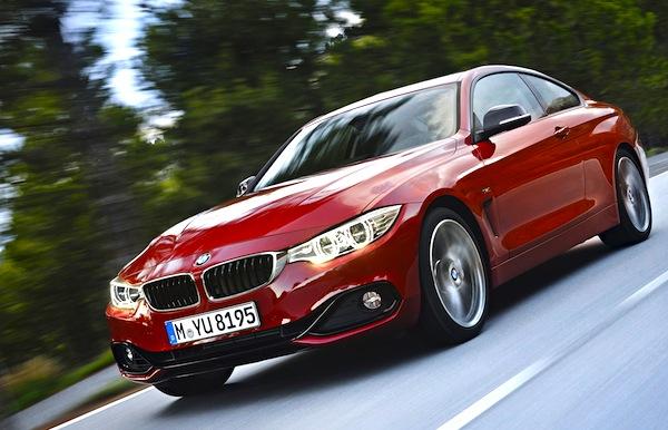 BMW 4 Series Germany July 2013