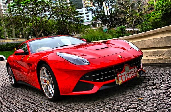 Ferrari F12 Hong Kong July 2013