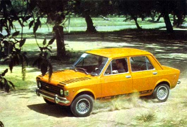 Fiat 128 Argentina 1973. Picture courtesy of testdelayer.com.ar
