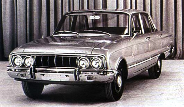 Ford Falcon Argentina 1970. Picture courtesy of testdelayer.com.ar