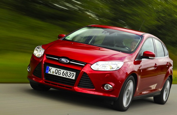 Ford Focus Europe July 2013. Picture courtesy of autobild.de