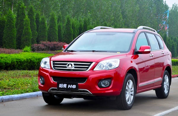 Great Wall Haval H6 China July 2013. Picture courtesy of bitauto.com