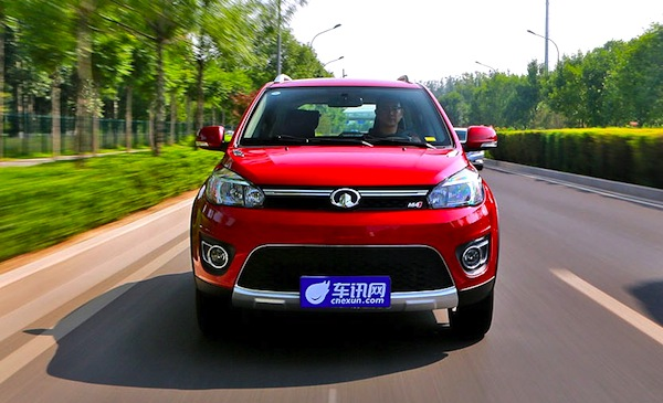 Great Wall Haval M4 China July 2013