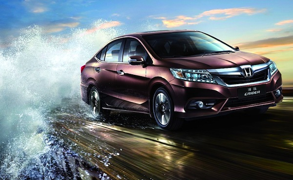 Honda Crider China July 2013