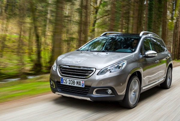 Peugeot 2008 France July 2013. Picture courtesy of L'Argus