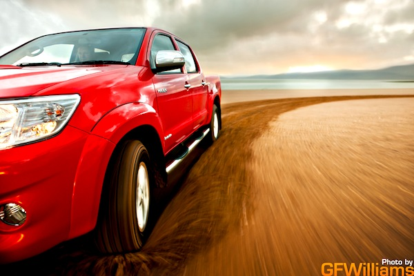Toyota Hilux Malawi 2013. Picture by GFWilliams