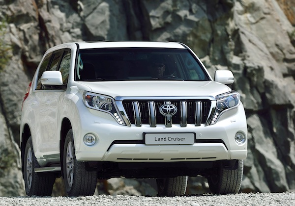 Toyota Prado UAE June 2013
