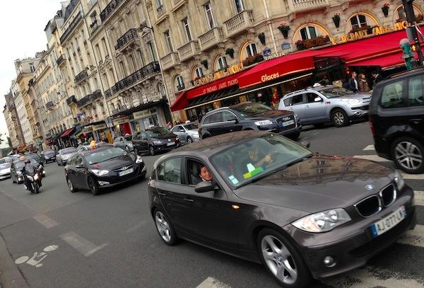 4 Car landscape Paris September 2013