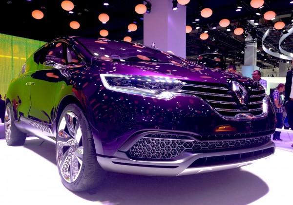 9 Renault Espace Concept Frankfurt Auto Show September 2013