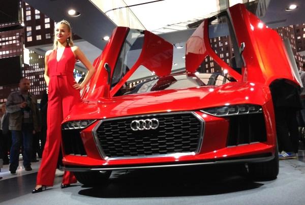 Audi Nanuk Concept Frankfurt Auto Show September 2013