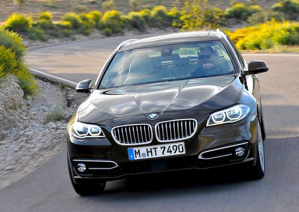BMW 5 Series Ireland August 2013