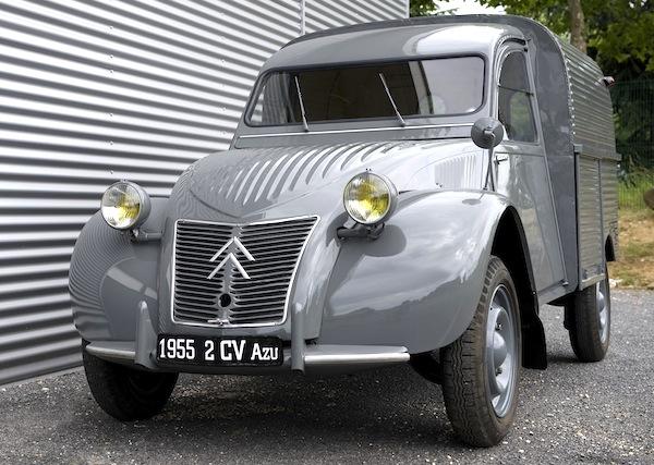 Citroen 2CV Fourgonette France 1963