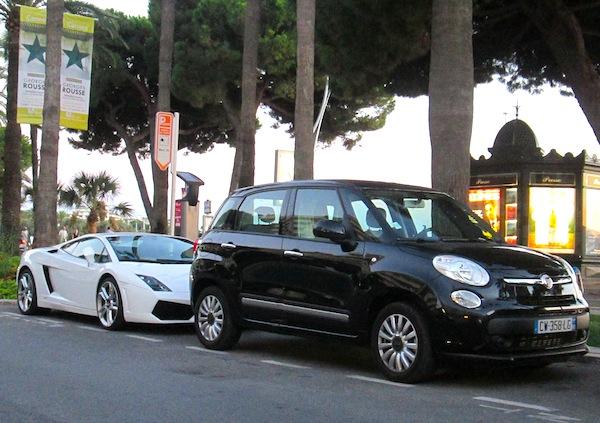Fiat 500L Cannes September 2013
