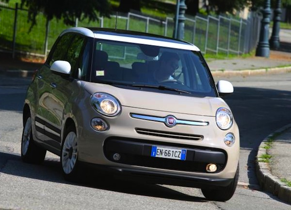 Fiat 500L Germany August 2013. Picture courtesy of autozeitung.de
