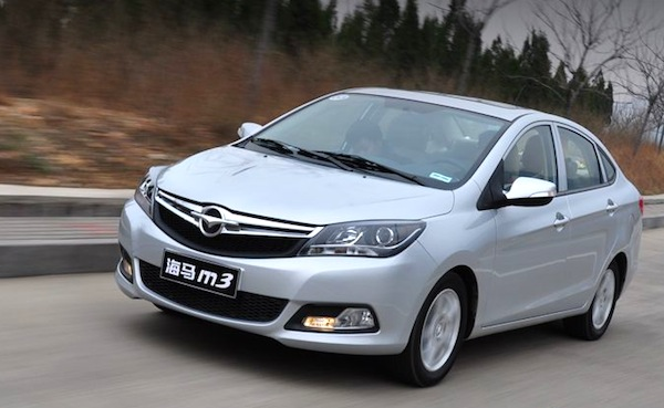 Haima M3 China August 2013. Picture courtesy of wautom.com