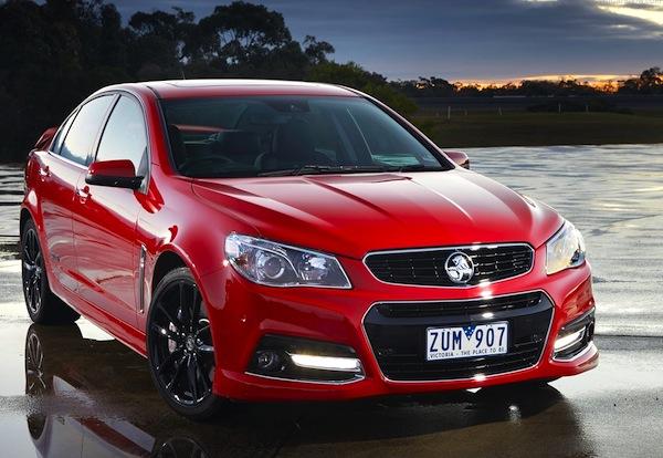 Holden Commodore Australia August 2013