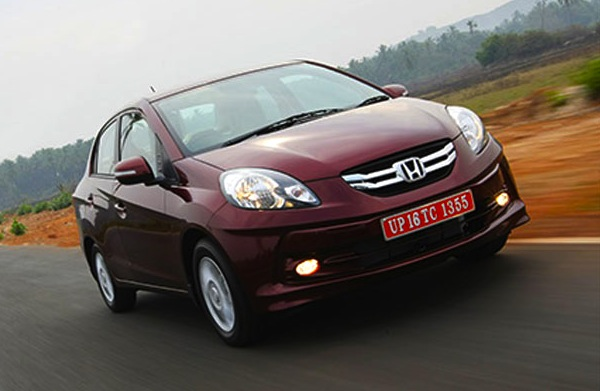 Honda Amaze India August 2013. Picture courtesy of ibnlive.in.com