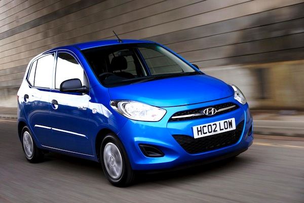 Hyundai i10 Scotland August 2013. Picture courtesy of gmotors.co.uk