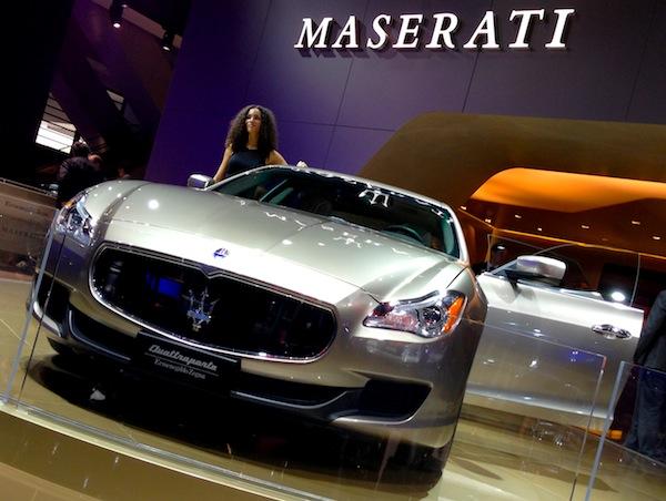 Maserati Quattroporte Frankfurt Auto Show September 2013