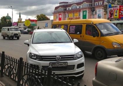 19 VW Touareg GAZ Gazelle UAZ Bikhanka