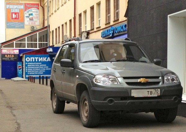 3 Chevrolet Niva