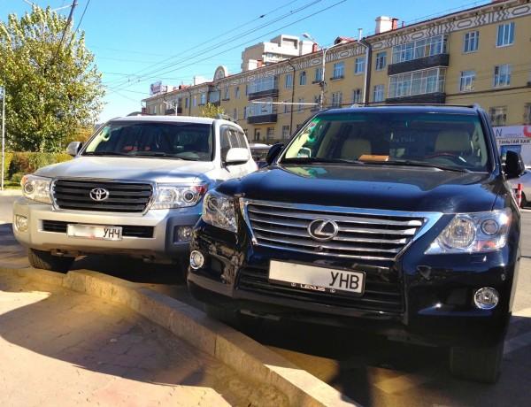 3 Lexus LX