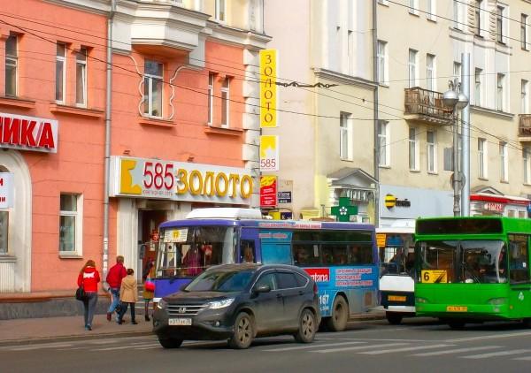 34 Irkutsk traffic