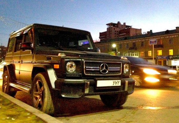 5 Mercedes G Class