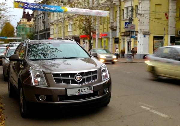 9 Cadillac SRX