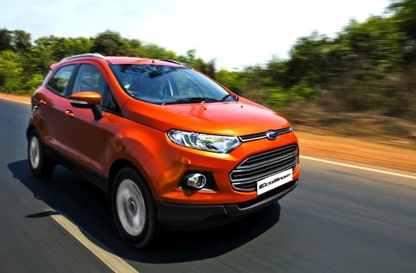 Ford Ecosport India September 2013