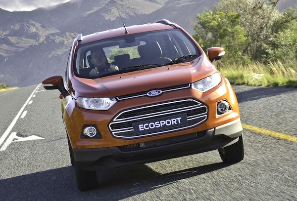 Ford Ecosport South Africa September 2013