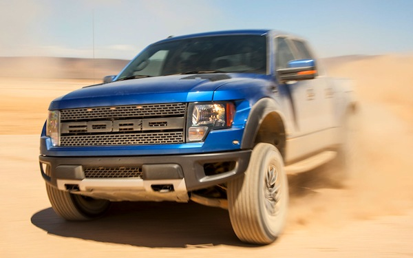 Ford F150 SVT Raptor Canada September 2013. Picture courtesy of motortrend.com