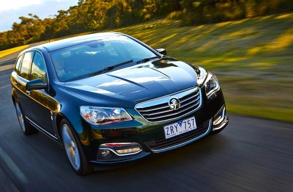 Holden Commodore Australia September 2013
