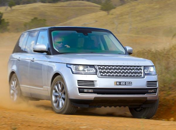Range Rover Mongolia 2013